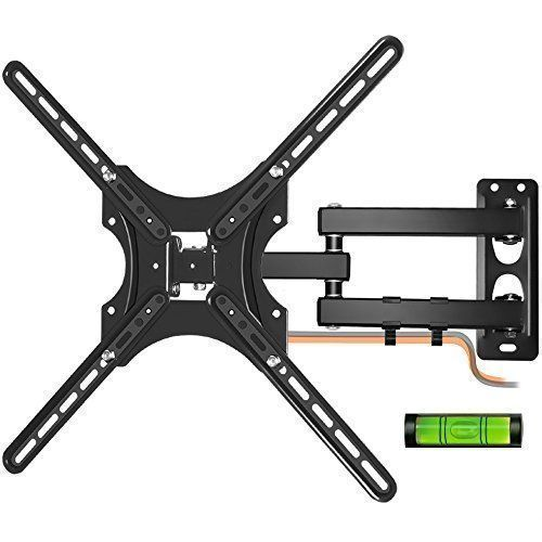 LCD TV Wall Mount, Kasonic Full Motion Swivel Articulating Arm Wall Mount Bracket for 26-55 Inches Flat Screen TVs with Load Capacity Up to 66 LBS:   Description:/bbr The Kasonic WM-K37 Full Dynamic TV wall mount offers a wide range of features to suitbr your home life. It gives you the perfect perspective according to your preferences. Bybr installing this mount, you can extend your TV. Even if you cannot view the screen in thebr room, for example, when cooking in the kitchen. This TV...
