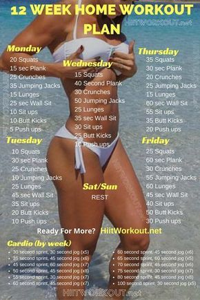 Best Workouts for a Tight Tummy - 12 Week No-Gym Home Workout Plans - Ab Exercises and Ab Routine Ideas for Upper and Lower Abs - Get rid of that Belly Pooch, Love Handles or Muffin Top - Workouts and Motivation to Get In Shape, You don't Even Need a Gym