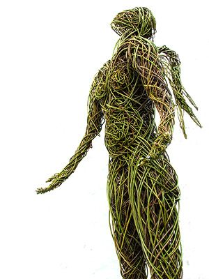Trevor Leat - willow and wicker sculptures