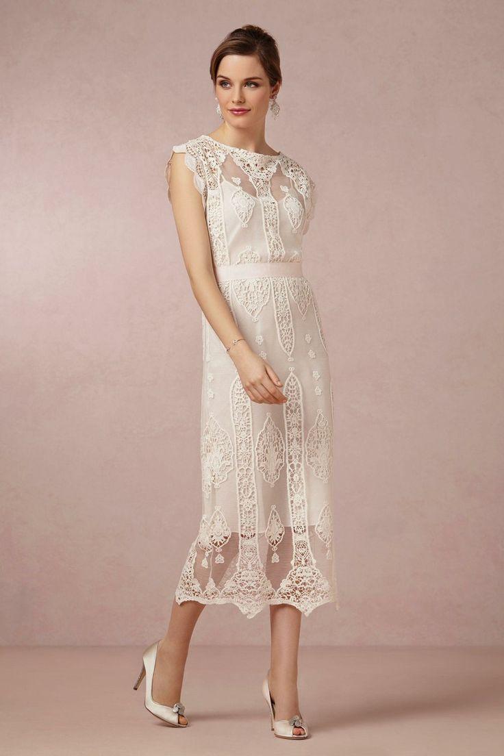 vintage lace midcalf dress