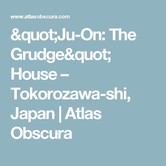 """Ju-On: The Grudge"" House – Tokorozawa-shi, Japan | Atlas Obscura"