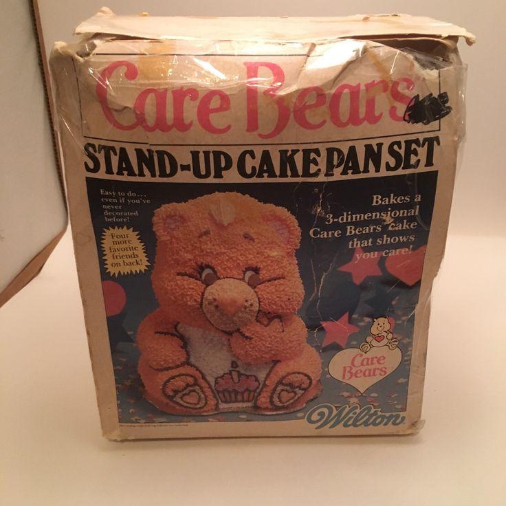 wilton 3d bear cake pan instructions