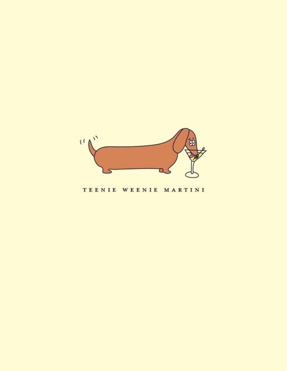 Dachshunds. Cocktails. Stationery. Love. #dachshunds #stationery