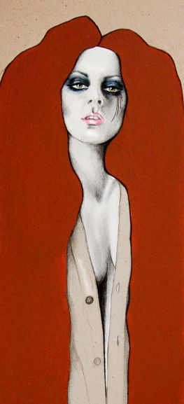kelly thompson illustrations | Take a look at these awesome fashion illustrations by Kelly Thompson ~j