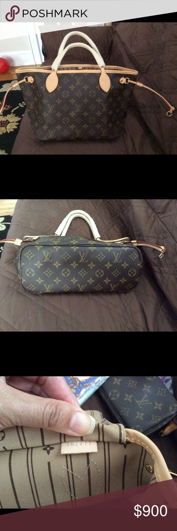 Authentic Louis Vuitton neverfull PM Like new,used one time,comes with dust bag,no box no receipt Louis Vuitton Bags Shoulder Bags