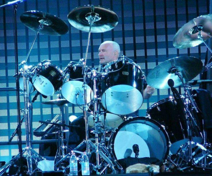 Pin By William Joyner On Drums Phil Collins Drums Vintage Drums