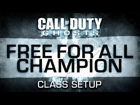 "http://callofdutyforever.com/call-of-duty-tutorials/call-of-duty-ghosts-ffa-class-setup-free-for-all-champion/ - Call of Duty Ghosts FFA Class Setup : ""Free For All Champion""  Call of Duty (COD) Ghosts ARX-160 gameplay and FFA class setup for the ""Free For All Champion"" loadout. Let's take a look at recommended weapons, attachments, equipment, perks and killstreaks for this custom class. _______________ More Call of Duty Ghosts Class Setups:..."