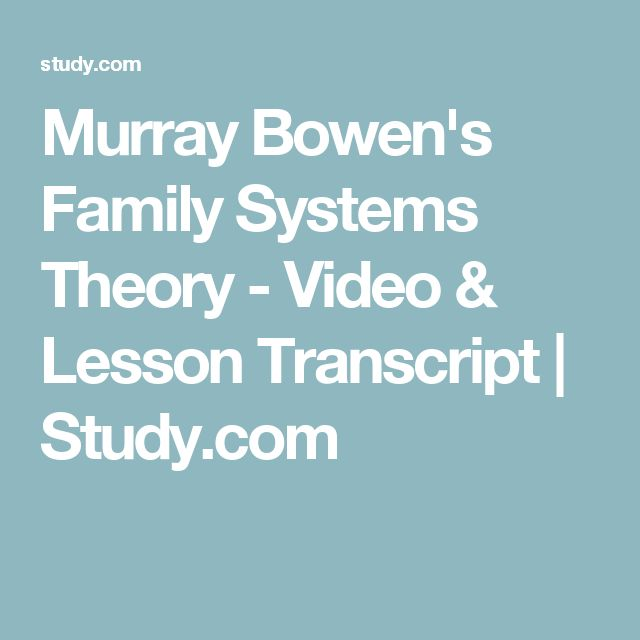 murray bowen and the development of psychodynamic approaches I covered psychodynamic, behavioral and cognitive-behavioral contributions   numerous authors contributed to the development of the family systems  perspective,  such as virginia satir, murray bowen, jay haley and salvador  minuchin.
