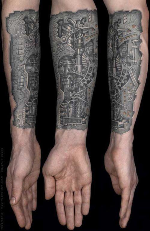 segreto tatuaggio robot