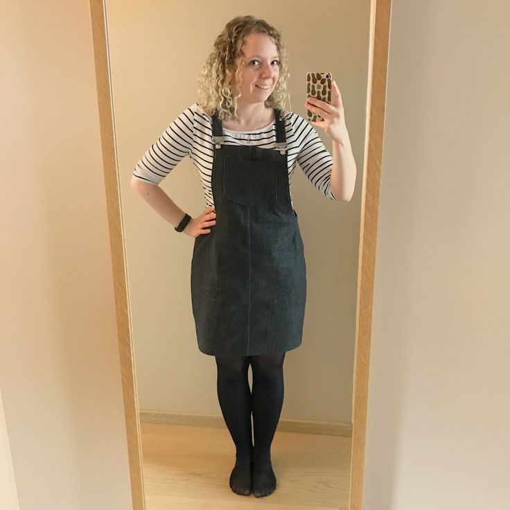 Cleo dungaree dress, Tilly and the buttons