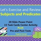Combine a little exercise with a little review and get your kids hooked on Let's Exercise and Review lessons! There is a 20 slide power point that ...