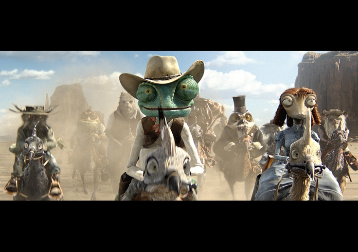 Rango, Academy Award Winner for Best Animated Feature Film!
