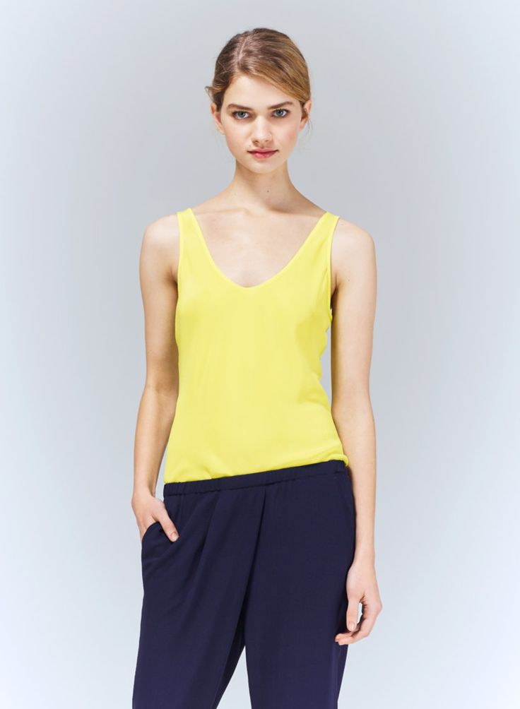 T. BABATON SID BLOUSE - Made with luxurious silk crepe de chine and cut on the bias