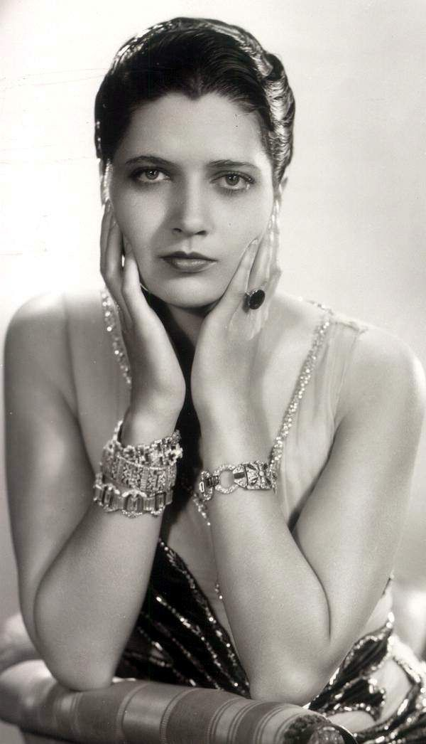 Kay Francis - (1905-1968) born Katharine Gibbs.  Some Broadway but films during 1930 to 1936, was the highest paid actress in film.  Worked for Warner Bros.
