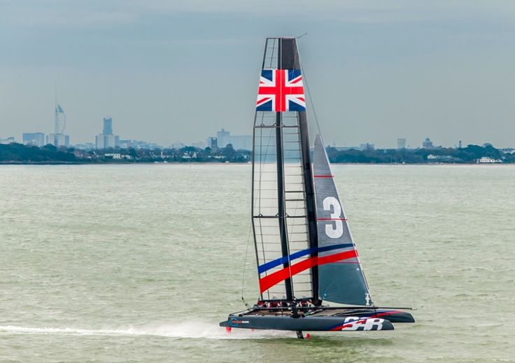 Americas Cup coming to the solent this summer, well be goodness