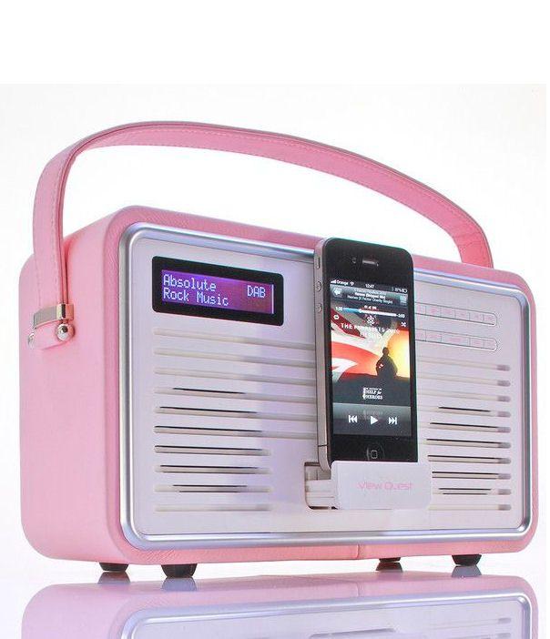 Retro Pink Ipod Radio <3 SO cUte!