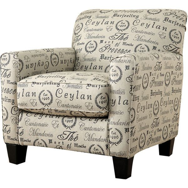Signature Design by Ashley Alenya Accent Chair ($525) ❤ liked on Polyvore featuring home, furniture, chairs, accent chairs, signature design by ashley, signature design by ashley furniture, spring chair and low chair