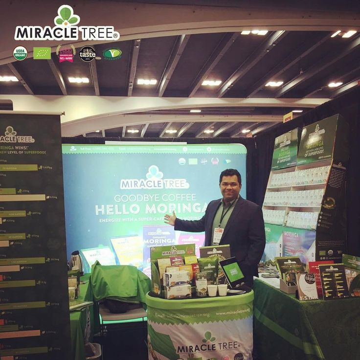 Say Goodbye to Coffee and Hello to #Moringa!  Stop by at our Booth #2385 (South Hall) at the Moscone Center in San Francisco today and tomorrow so experience our super-caffeinated moringa #superfood infusions!   #supercaffeine #cleanenergy #goodbyecoffee #hellomoringa