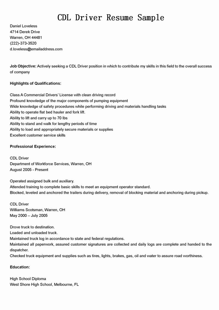 23 Uber Driver Job Description Resume in 2020 (With images