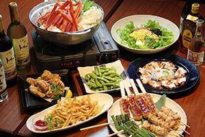 Crab Stew Dinner & Free Drinks at Izakaya Hokkaido