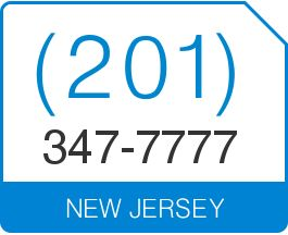 New Jersey Area Code 201 Local Vanity Telephone Number (201) 347-7777