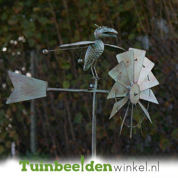 Pin Op Metalen Tuinstekers