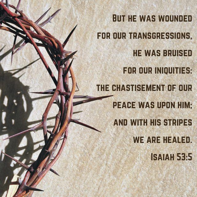 Jesus Christ our Passover Sacrifice