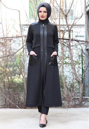 Aysima Deri Cepli Ara Boy Kap-Siyah-1410