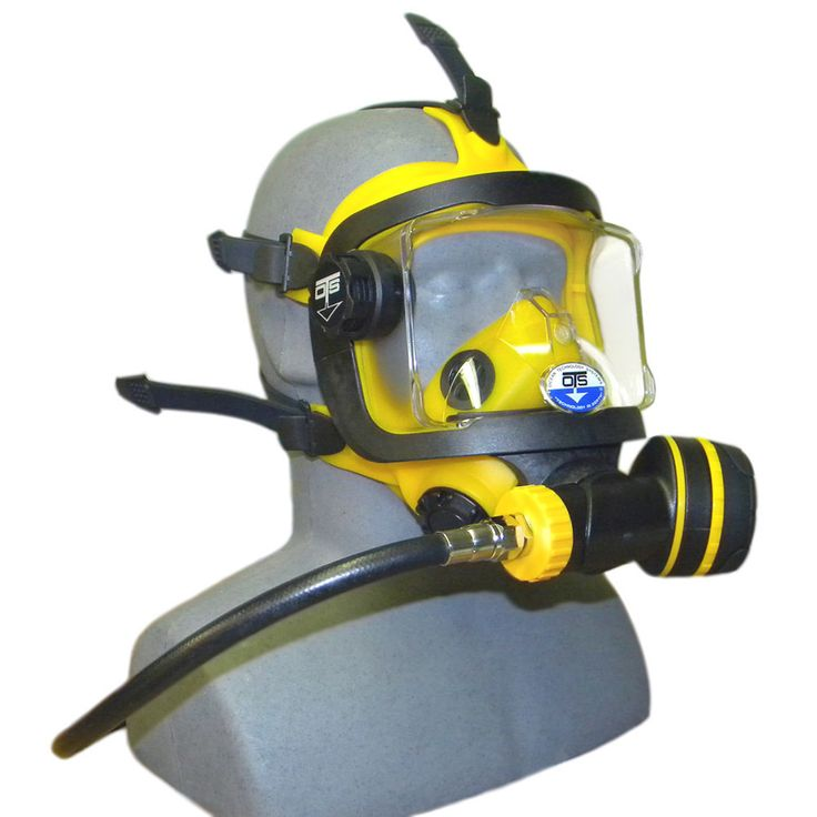 Bumble bee! ;) OTS GUARDIAN FULL FACE MASK - Pro-Diving Services