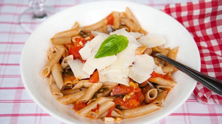 Buckwheat Pasta Arabiata