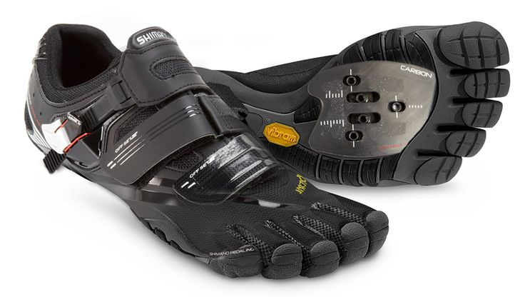 Barefoot Cycling Shoe Promises Natural Cycling Action Fivefingers - PentiCleat Visit us @ http://www.wocycling.com/ for the best online cycling store.