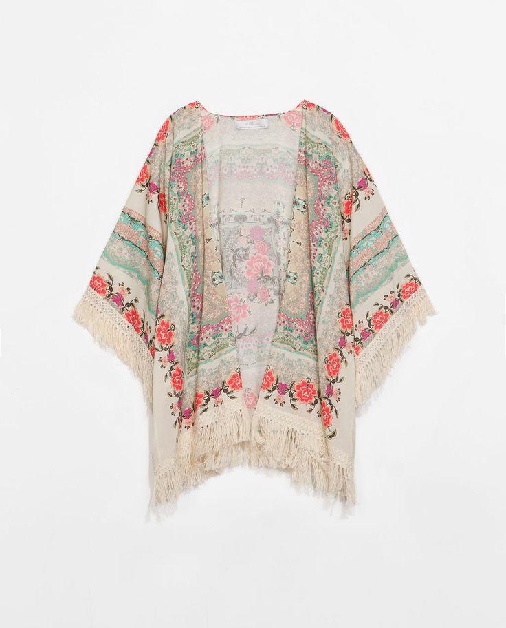 Image 7 of PRINTED SHAWL from Zara