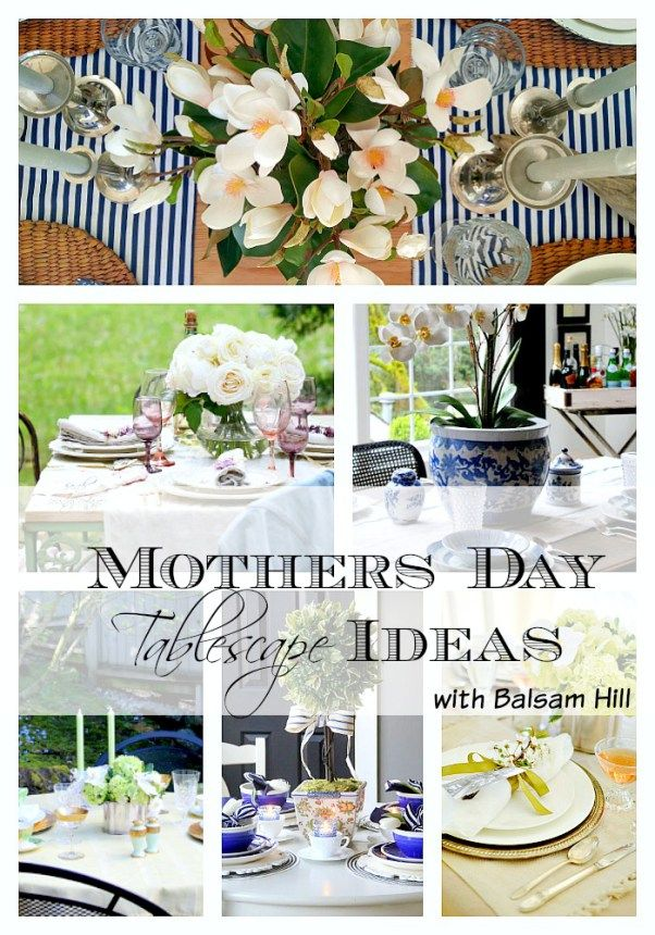 6 Mothers Day Brunch Table Ideas