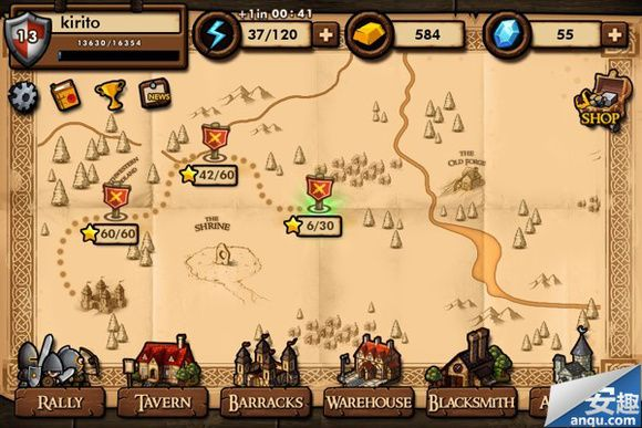 Mini Warriors - Game UI