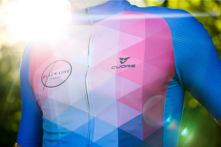 New Black Line London Cycle Jersey: black has never been so colorful!   Check out for more here...  http://www.cycletoscana.com/en/black-line-london-cycle-jersey/