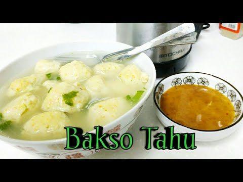 Resep Bakso Tahu Tanpa Daging Enak Lho Delicious Tasty Tofu Meatballs Tofu Meatballs Tofu Delicious