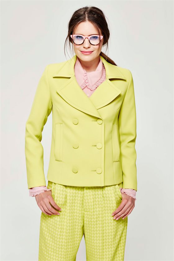 Refresh your look with fashion's colour of the moment, chartreuse…