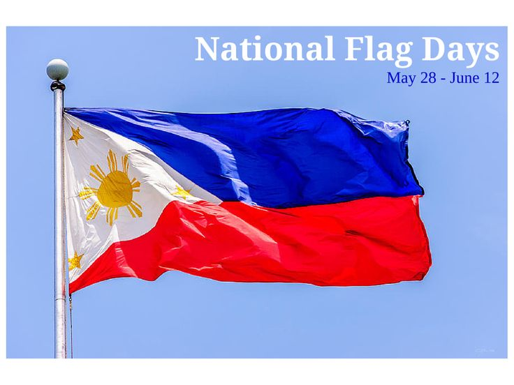 National Flag Days are observed from May 28 to June 12 to commemorate the first unfurling of the Philippine flag after the defeat of the Spanish forces in the battle of Alapan, Imus, Cavite by the Philippine Revolutionary Army. It was only formally presented to the public on June 12, 1898. Since president Fidel V. Ramos issued Executive Order No. 179, every Filipino is encouraged to display the Philippine flag in their homes, offices, establishments, schools, etc. throughout this period.