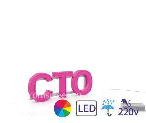 Перейти в on-line магазин. Раздел объёмные световые буквы Световая вывеска Станция технического обслуживания СТО