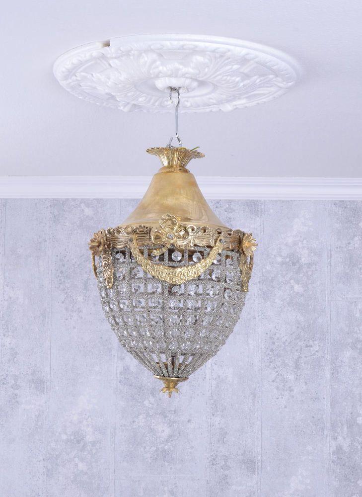 Elegant Kronleuchter Antik Deckenleuchte Kristalllampe L ster H ngelampe H ngeleuchte