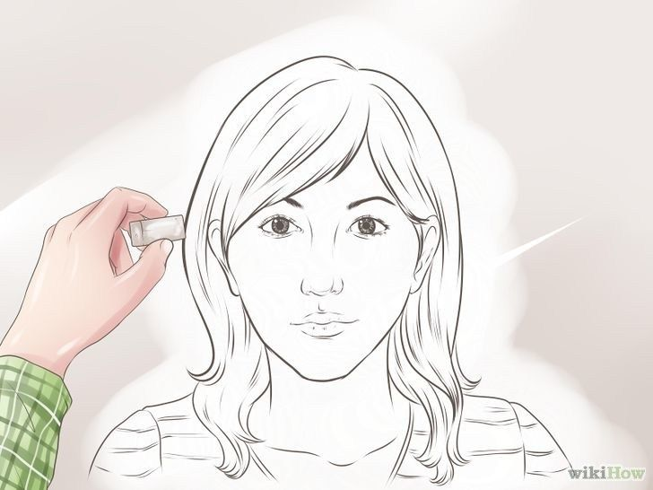 728px Draw A Face Step 12 Version 2 Menggambar Wajah Cara Menggambar Gambar Realistis
