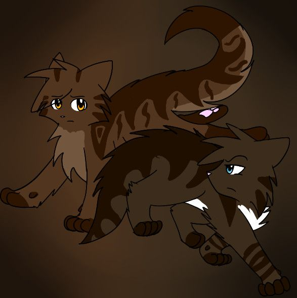 Warrior Cats Dead: Brambleclaw And Hawkfrost By Yin-Meep.deviantart.com On