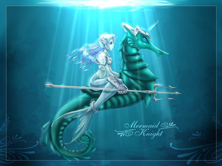 Mermaid Knight!!: Beauty Mermaids, Bing Images, Mermaids Knights, Seahor, Wonder Finding, Free Mermaids, Mermaids Luv, Fantasy Mermaids, The Sims