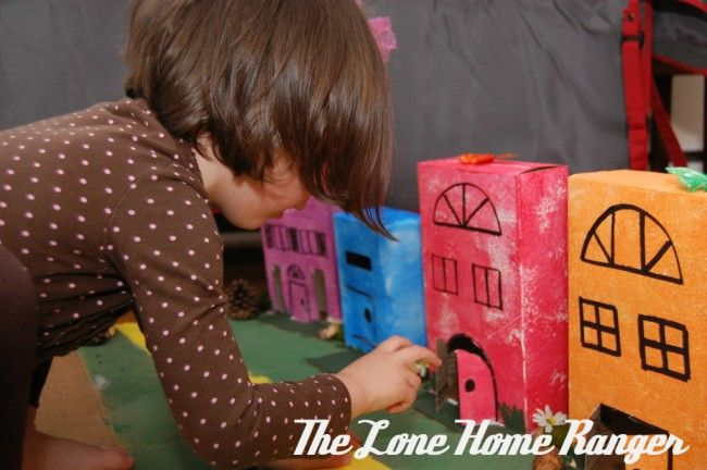 Cardboard Box: Make a Town!: Cardboard Boxes, Boxes Town, Recycled Boxes, Cereal Boxes, Boxes Construction, Boxes Minis, Art Projects, Town Crafts, Art For Kids