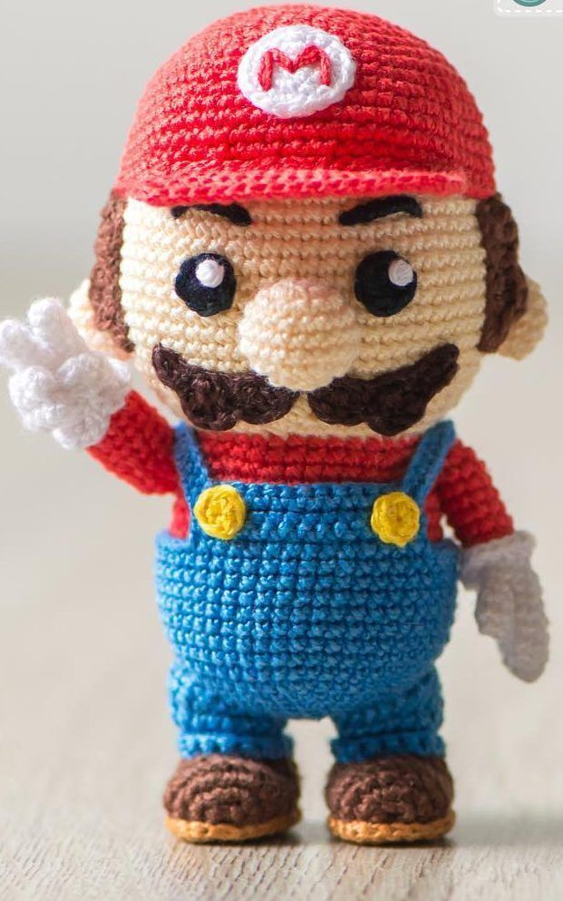 Mario – Amigurumi Patterns | 993x621