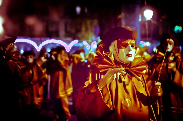 The Carnaval de Limoux, every year from January to April. A must-see! You will get confetti absolutely everywhere, however...  http://www.destinationsuddefrance.com/Sortir/Grands-evenements/Le-Carnaval-de-Limoux