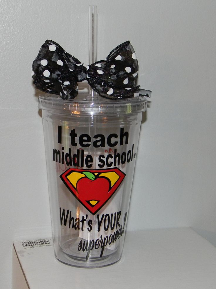 lPersonalized Middle School Teacher Gift by dreamingdandelions, $10.00