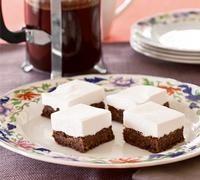 Chocolate mallow slice - Recipe