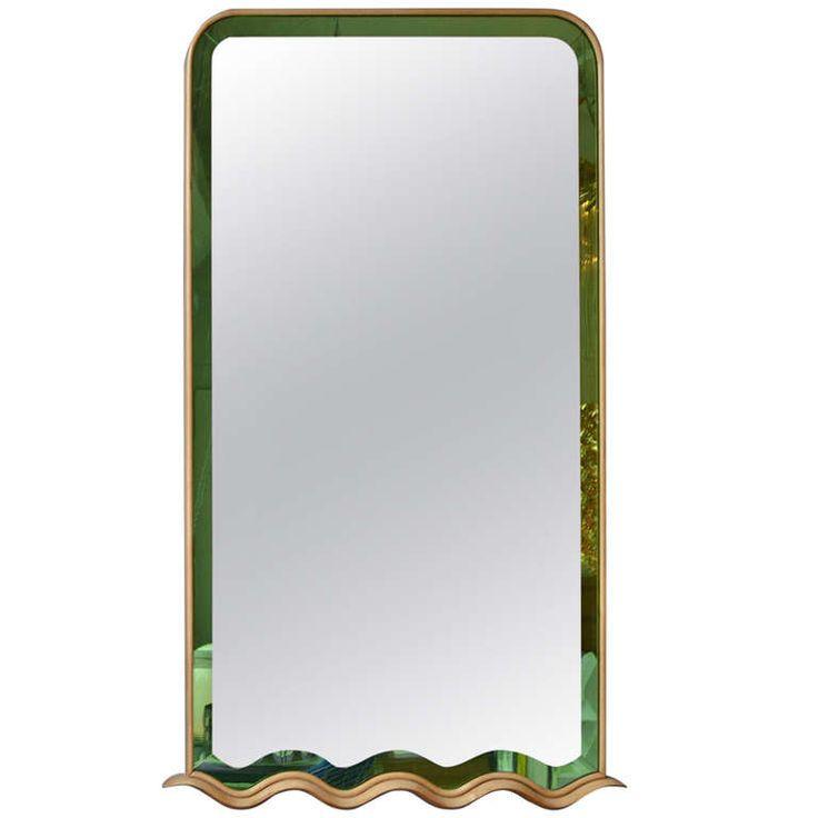 Classic Wall Mirror Designed by Paolo Buffa, Italy | 1stdibs.com