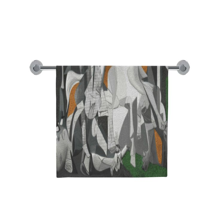 "My Picasso Serie:Guernica Bath Towel 30""x56"""